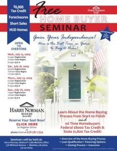 Harry Norman Seminar July