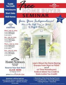 Harry Norman Seminar July