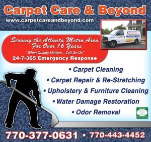 Carpet Care Proof