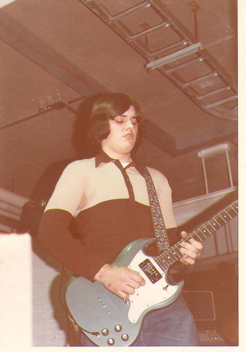 First pro gig in 1973