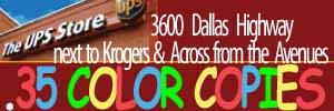 ups color ad