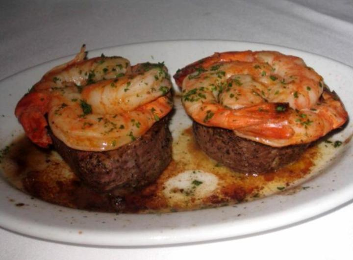 steaks w shrimp